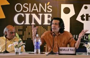 Mani Kaul and Neville Tuli (photo: The Hindi)