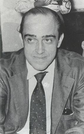 Oscar Niemeyer in the 1950s