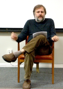 Slavoj Zizek in Liverpool/2008 (image: Andy Miah/wiki)