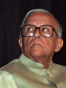Veteran Communist Leader Jyoti Basu (1914-2010) Photo: Biswarup Ganguly