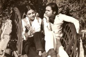 With Dipti Naval in Chashme Buddoor (1981)