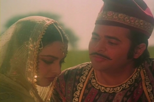 With Rekha in Umrao Jaan (1981)