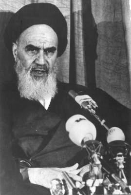 Ayatollah Khomeini in 1979