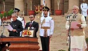 Narendra Modi sworn in as Prime Minister (photo: http://en.wikipedia.org/wiki/Narendra_Modi)
