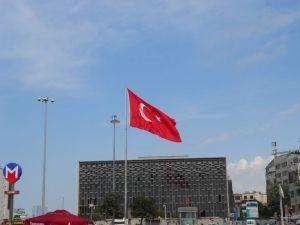 [Istanbul's Taksim Square]