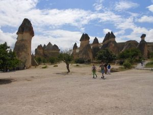 [Mushroom shaped rock formations, Cappadocia]