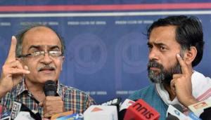 Prashant Bhushan & Yogendra Yadav