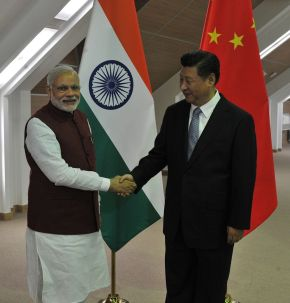 PM Narendra Modi with Chinese President Xi Jinping (File photo courtesy PM Modi's Facebook page)